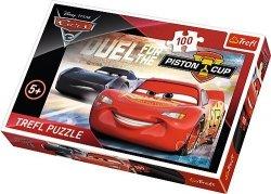 TREFL 100 EL. CARS 3 AUTA 3 PUZZLE 5+