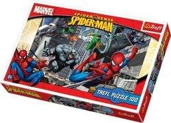 TREFL 100 EL. SPIDERMAN ATAK PUZZLE 5+