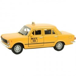WELLY FIAT 125P TAXI SKALA 1:34 3+