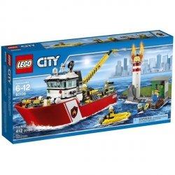 LEGO CITY ŁÓDŹ STRAŻACKA 60109 6+