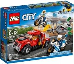LEGO CITY ESKORTA POLICYJNA 60137 5+