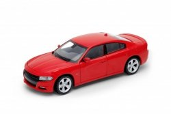 WELLY 2016 DODGE CHARGER, CZERWONY SKALA 1:24