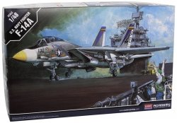ACADEMY U.S. NAVY FIGHTER F-14A TOMCAT 12253 SKALA 1:48