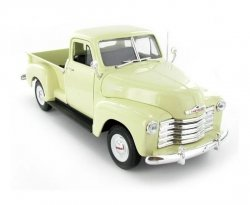 WELLY CHEVROLET 3100 PICK UP 1953 (BEIGE) SKALA 1:18