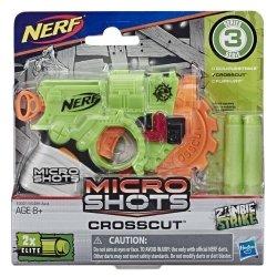 HASBRO WYRZUTNIA NERF MICROSHOTS CROSSCUT E3001 8+