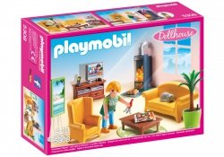 PLAYMOBIL SALON Z KOMINKIEM 5308 4+