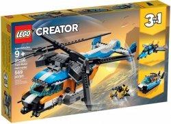 LEGO CREATOR ŚMIGŁOWIEC DWUWIRNIKOWY 31096 9+