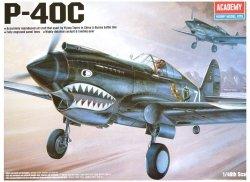 ACADEMY P-40C TOMAHAWK SKALA 1:48