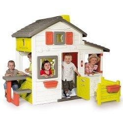 SMOBY DOMEK OGRODOWY DLA DZIECI  FRIENDS HOUSE 4+