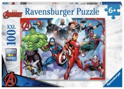RAVENSBURGER 100 EL. XXL AVENGERS PUZZLE 6+