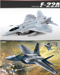 ACADEMY F-22A RAPTOR SKALA 148