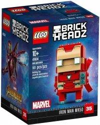 LEGO BRICKHEADZ IRON MAN MK50 41604 10+