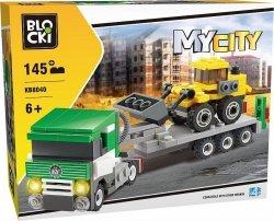 BLOCKI KLOCKI MYCITY 145 EL. LAWETA 6+