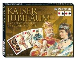PIATNIK KARTY CESARSKIE KAISER - 2 TALIE 3+
