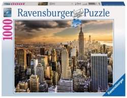 RAVENSBURGER 1000 EL. DRAPACZE CHMUR NOWY YORK PUZZLE 14+