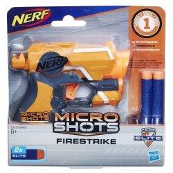 HASBRO NERF MICROSHOTS FIRESTRIKE E0721 8+