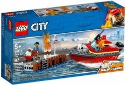 LEGO CITY POŻAR W DOKACH 60213 5+