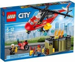 LEGO CITY HELIKOPTER STRAŻACKI 60108 5+