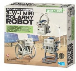 4M MINI SOLARNY ROBOT 3W1 8+