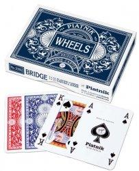 PIATNIK KARTY PODWÓJNE WHEELS 12+