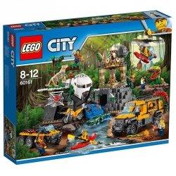 LEGO CITY BAZA W DŻUNGLI 60161 8+