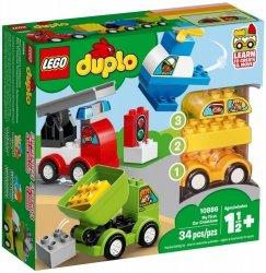 LEGO DUPLO MOJE PIERWSZE SAMOCHODZIKI 10886 18M+