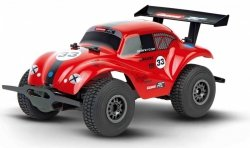CARRERA RC OFF ROAD VW BEETLE, RED 1:18 14+