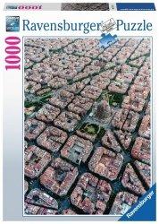 RAVENSBURGER 1000 EL. BARCELONA Z LOTU PTAKA PUZZLE 10+