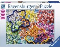 RAVENSBURGER 1000 EL. KOLOROWE PUZZLE PUZZLE 14+