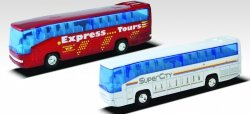 WELLY AUTOBUS SUPER COACH SKALA 1:64 3+