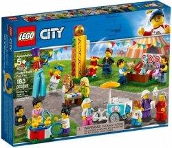 LEGO CITY WESOŁE MIASTECZKO - ZESTAW MINIFIGUREK 60234 5+