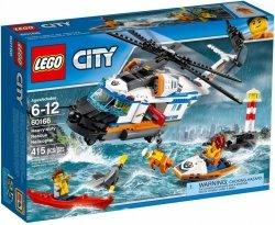 LEGO CITY HELIKOPTER RATUNKOWY DO ZADAŃ SPECJALNYCH 60166 6+