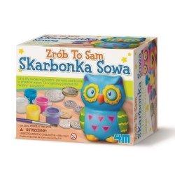 4M MINI SKARBONKA - SOWA 8+