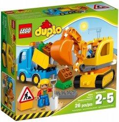 LEGO DUPLO CIĘŻARÓWKA I KOPARKA GĄSIENICOWA 10812 2+