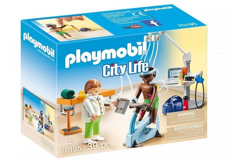 PLAYMOBIL CITY LIFE FIZJOTERAPEUTA 70195 4+