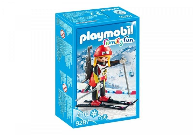 PLAYMOBIL BIATHLONISTKA 9287 4+