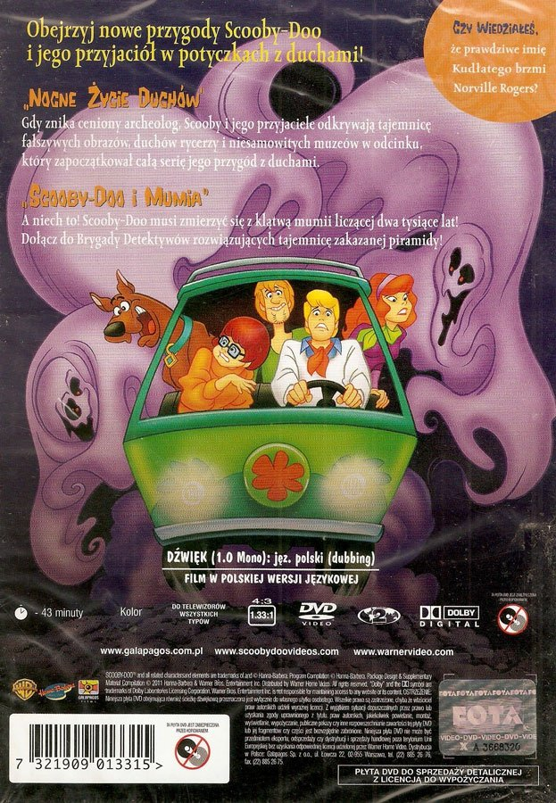 SCOOBY-DOO I MUMIA (Scooby-Doo and Mummy Too) (DVD)