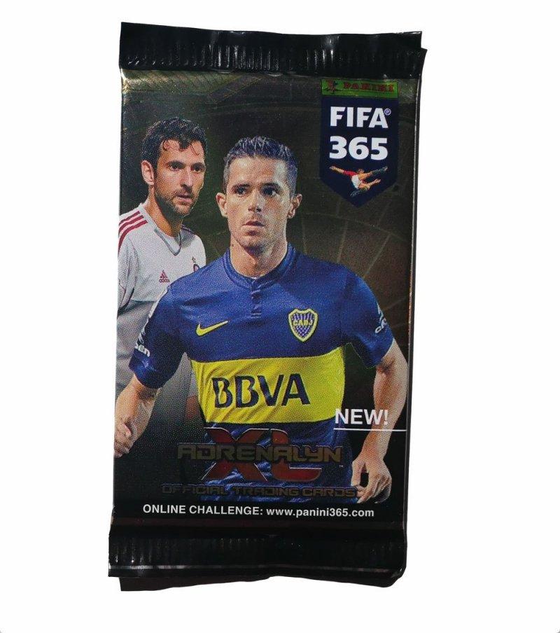 PANINI FIFA 365 SASZETKA Z KARTAMI ADRENALYN XL 5+
