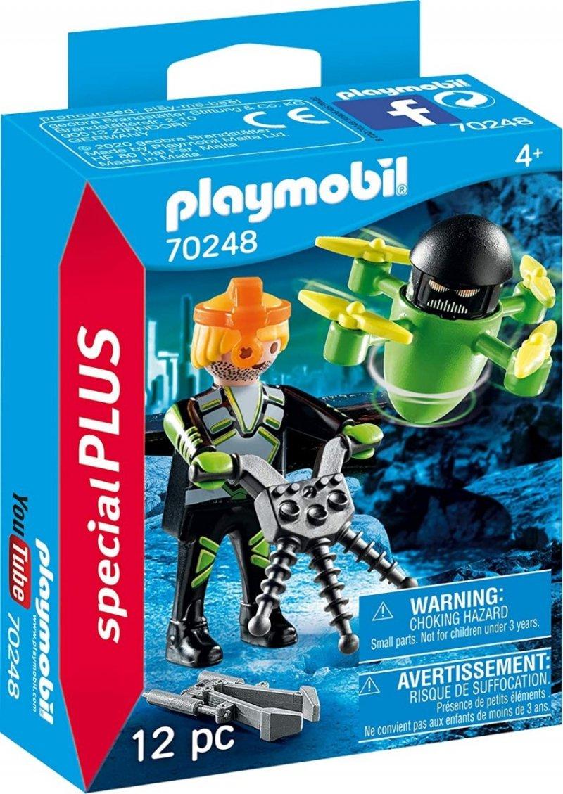 PLAYMOBIL AGENT Z DRONEM 70248 4+