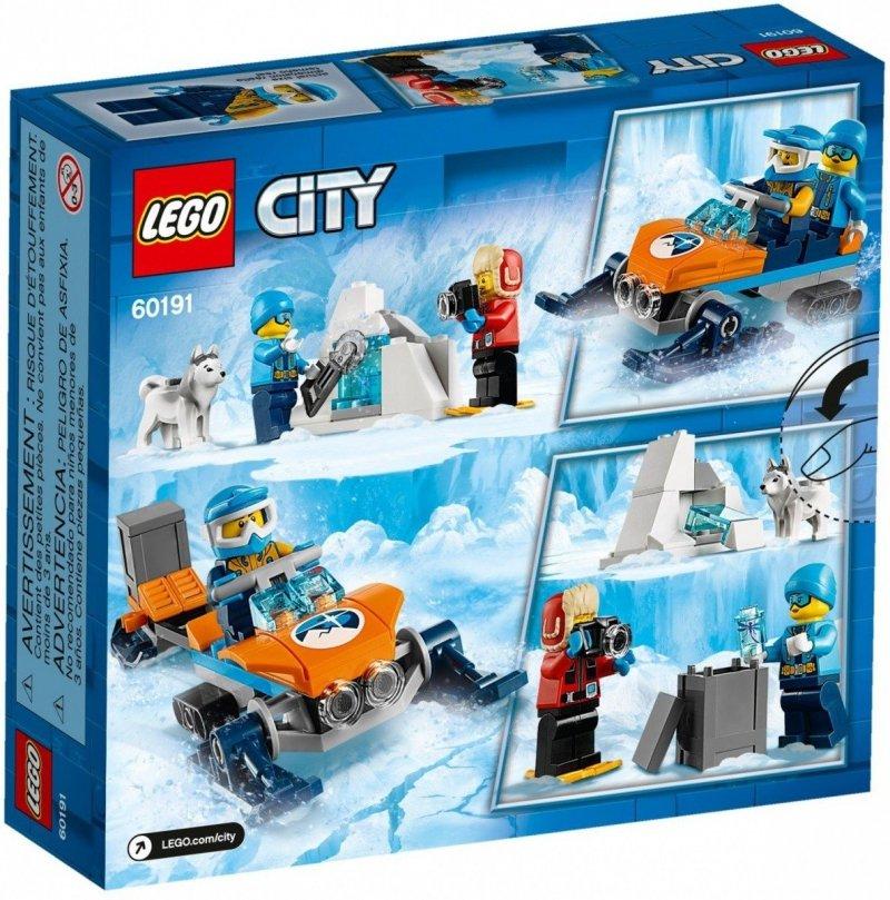 LEGO CITY ARKTYCZNY ZESPÓŁ BADAWCZY 60191 5+