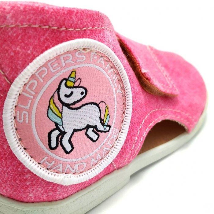 kapcie-dla-dzieci-slippers-family-jeans-daisy-II