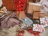 Kapcie domowe damskie Slippers Family Grey