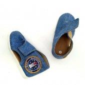 Kapcie dla dzieci na rzep Jeans PACIFIC II