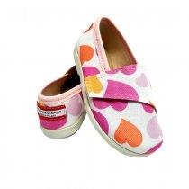 Buty dla dzieci na rzep  Lowerki print Lovely
