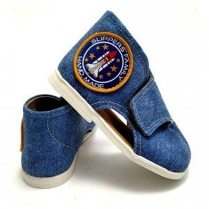 Kapcie dla dzieci Slippers Family Jeans Pacific II