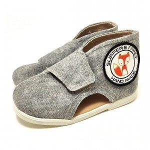 Kapcie dla dzieci Slippers Family Jeans Ash II
