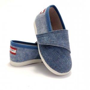 Buty dla dzieci na rzep print LOWERKI OCEAN