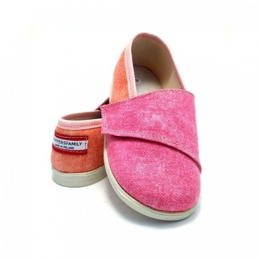 tenisówki różowe dla dzieci slippersfamily