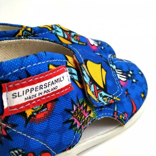 kapcie profilaktyczne SUPERMAN Slippers Family