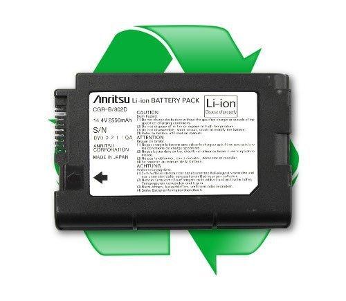 regeneracja akumulatora ANRITSU Li-ion CGR-B/802D, CGR-B/802E 14,4V